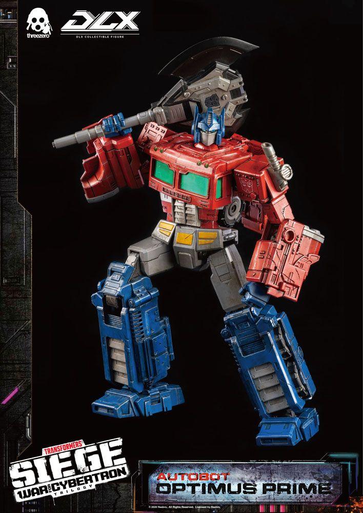 Figurine Transformers War For Cybertron Trilogy DLX Optimus Prime 25cm 1001 Figurines (16)