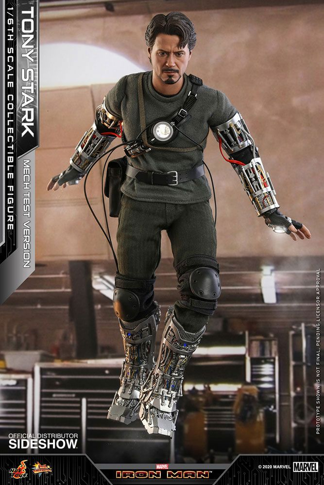 Figurine Iron Man Movie Masterpiece Tony Stark Mech Test Version 30cm 1001 Figurines (2)