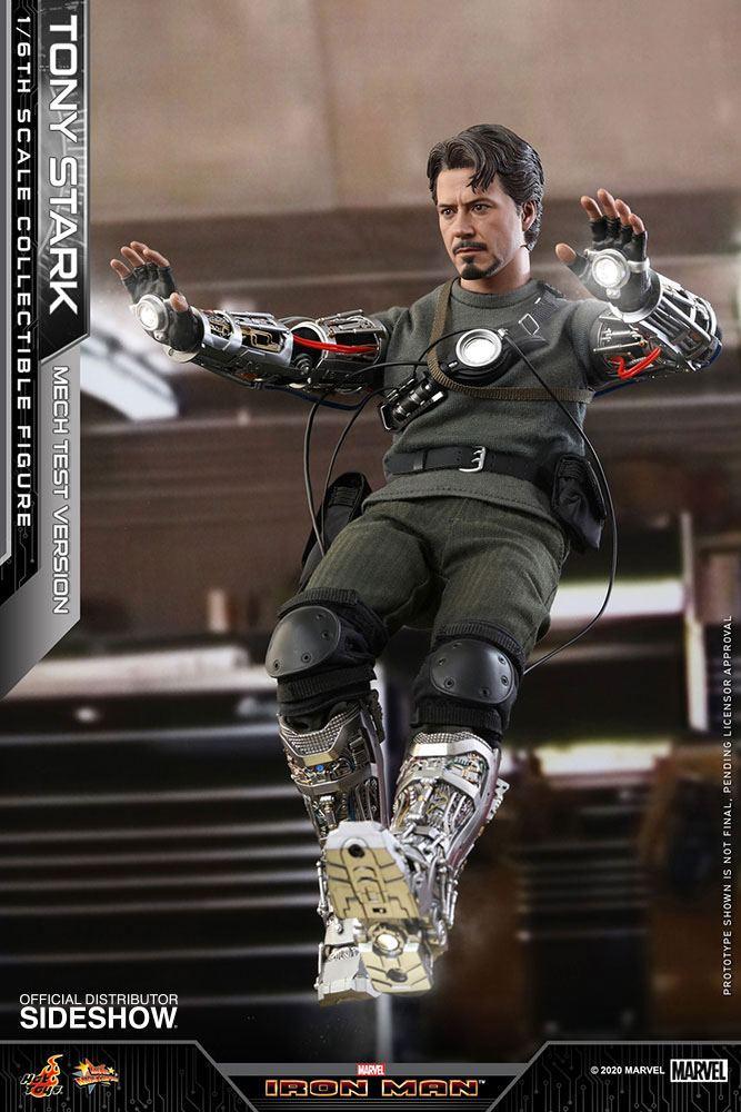 Figurine Iron Man Movie Masterpiece Tony Stark Mech Test Version 30cm 1001 Figurines (4)