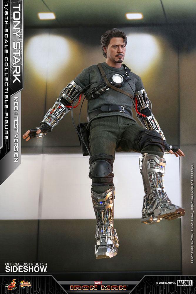 Figurine Iron Man Movie Masterpiece Tony Stark Mech Test Version 30cm 1001 Figurines (3)