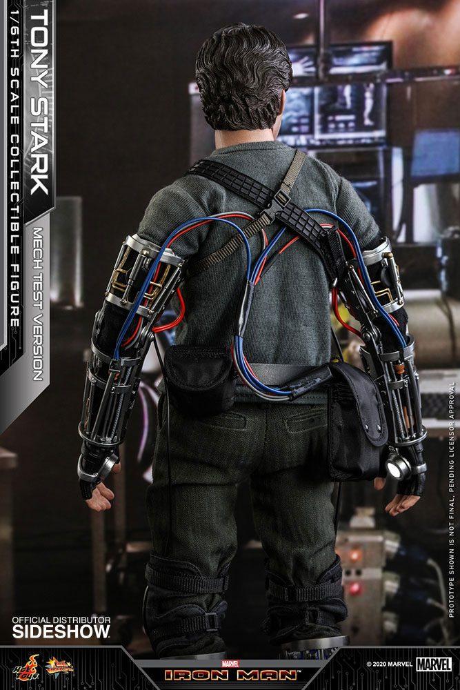Figurine Iron Man Movie Masterpiece Tony Stark Mech Test Version 30cm 1001 Figurines (5)