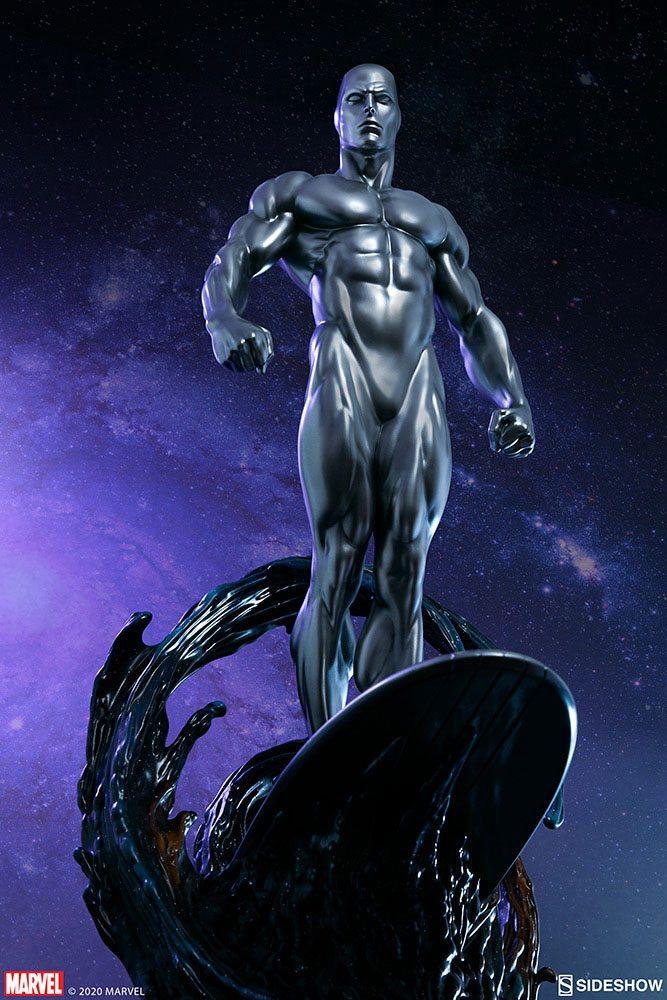 Statuette Marvel Silver Surfer 65cm 1001 Figurines (1)