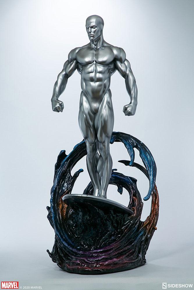 Statuette Marvel Silver Surfer 65cm 1001 Figurines (4)