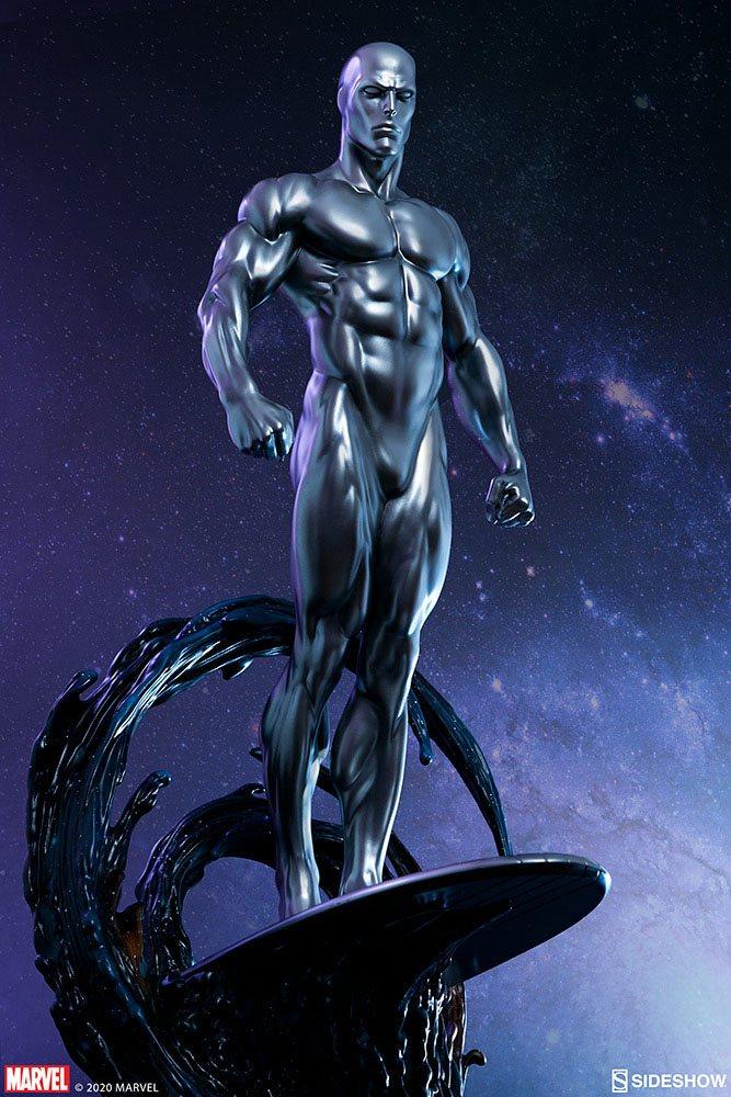 Statuette Marvel Silver Surfer 65cm 1001 Figurines (3)
