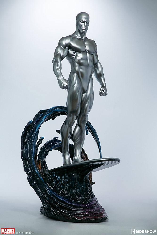Statuette Marvel Silver Surfer 65cm 1001 Figurines (9)