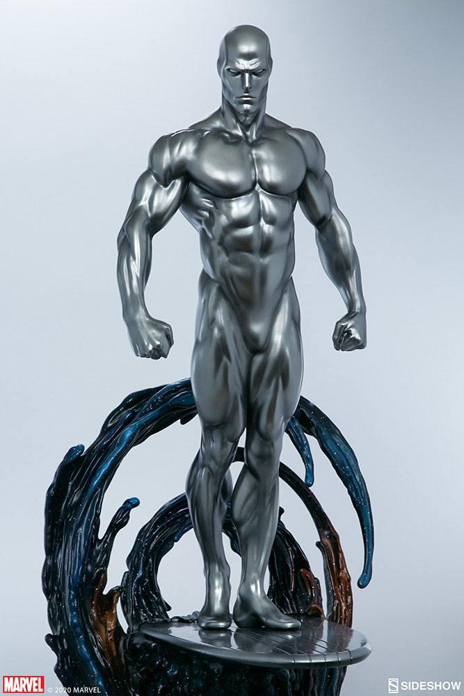 Statuette Marvel Silver Surfer 65cm 1001 Figurines (10)