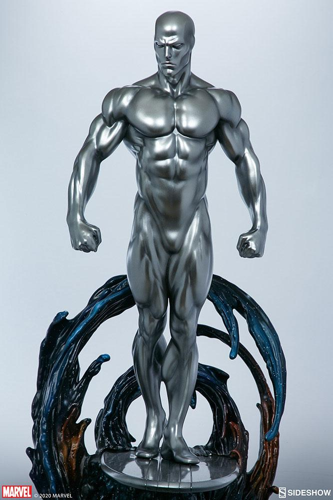 Statuette Marvel Silver Surfer 65cm 1001 Figurines (12)