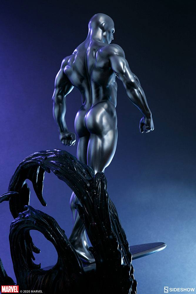 Statuette Marvel Silver Surfer 65cm 1001 Figurines (22)
