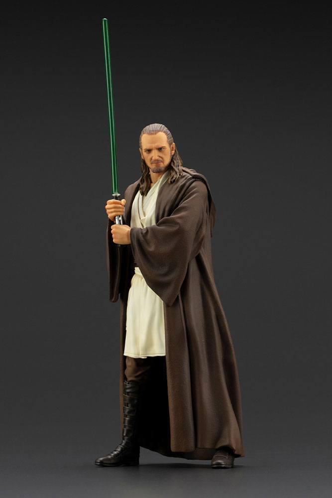 Statuette Star Wars Episode I ARTFX+ Qui-Gon Jinn 19cm 1001 Figurines (2)