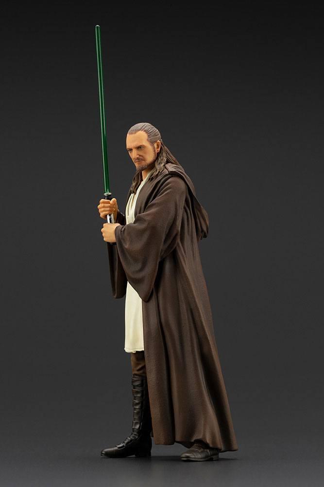 Statuette Star Wars Episode I ARTFX+ Qui-Gon Jinn 19cm 1001 Figurines (3)