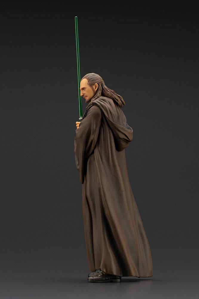 Statuette Star Wars Episode I ARTFX+ Qui-Gon Jinn 19cm 1001 Figurines (4)