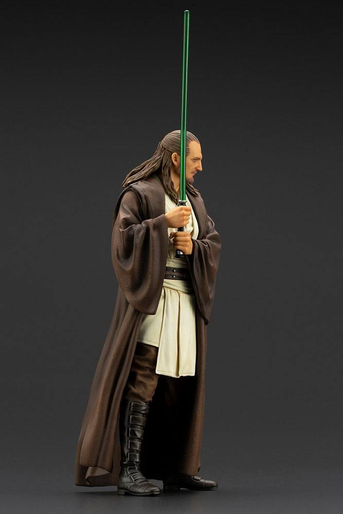 Statuette Star Wars Episode I ARTFX+ Qui-Gon Jinn 19cm 1001 Figurines (7)
