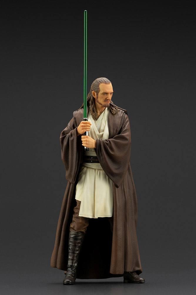 Statuette Star Wars Episode I ARTFX+ Qui-Gon Jinn 19cm 1001 Figurines (8)