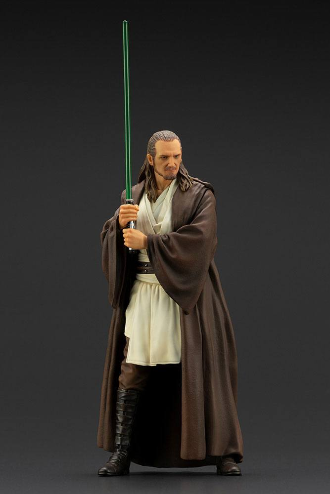 Statuette Star Wars Episode I ARTFX+ Qui-Gon Jinn 19cm 1001 Figurines (9)