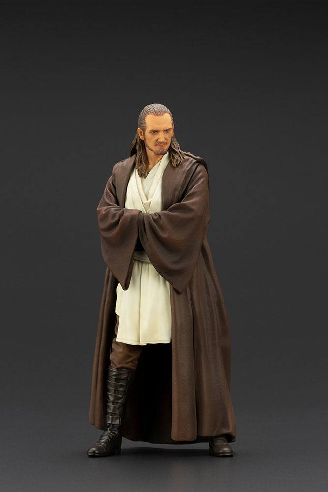 Statuette Star Wars Episode I ARTFX+ Qui-Gon Jinn 19cm 1001 Figurines (10)