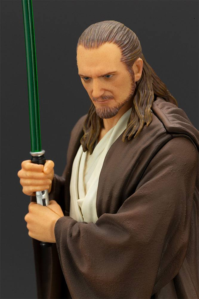 Statuette Star Wars Episode I ARTFX+ Qui-Gon Jinn 19cm 1001 Figurines (14)