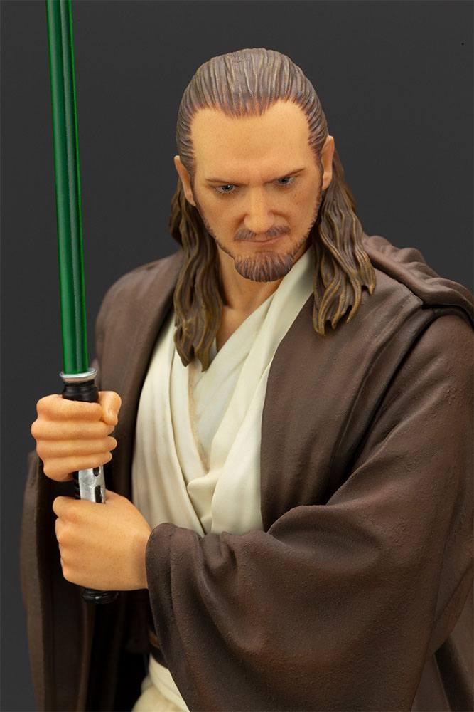 Statuette Star Wars Episode I ARTFX+ Qui-Gon Jinn 19cm 1001 Figurines (15)