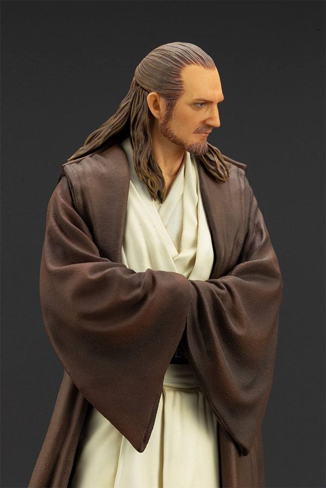 Statuette Star Wars Episode I ARTFX+ Qui-Gon Jinn 19cm 1001 Figurines (17)