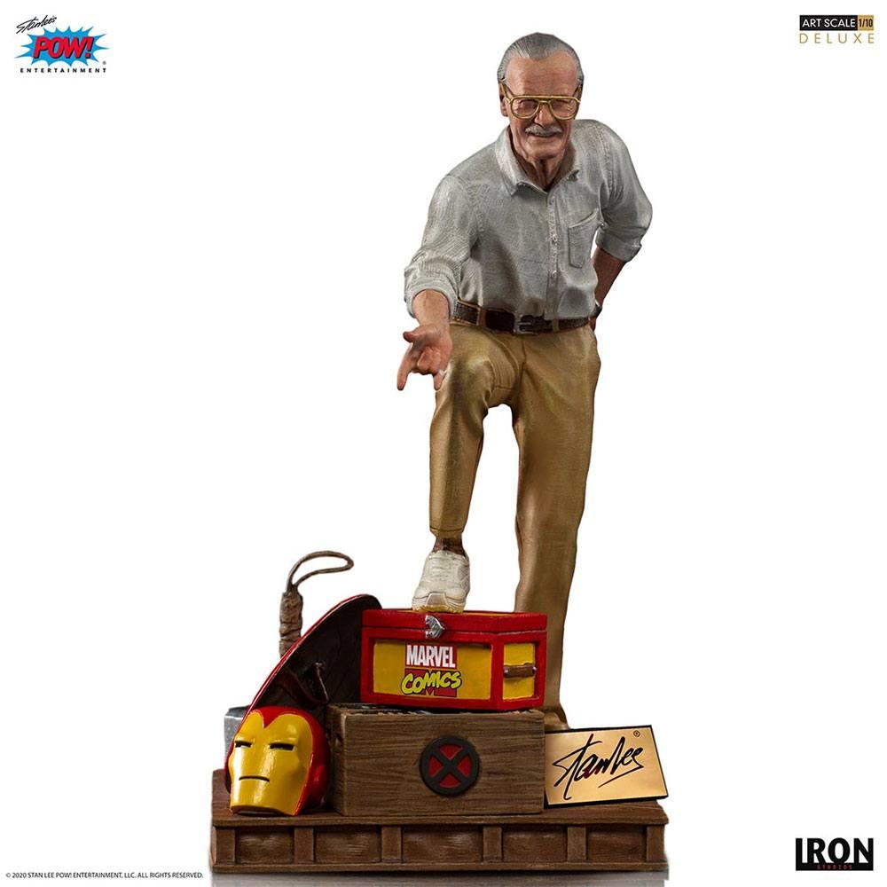 Statuette Marvel Deluxe Art Scale Stan Lee 1/10 Iron studios