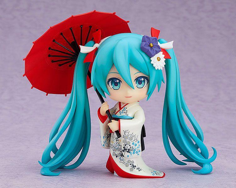 Figurine Nendoroid Character Vocal Series 01 Hatsune Miku Korin Kimono Ver. 10cm 1001 Figurines (2)
