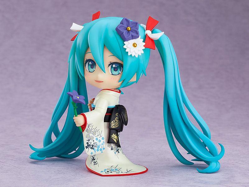 Figurine Nendoroid Character Vocal Series 01 Hatsune Miku Korin Kimono Ver. 10cm 1001 Figurines (3)