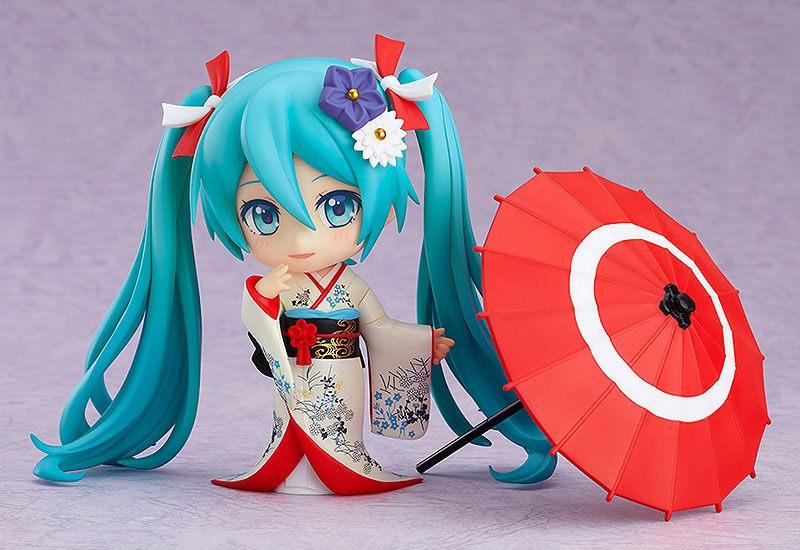 Figurine Nendoroid Character Vocal Series 01 Hatsune Miku Korin Kimono Ver. 10cm 1001 Figurines (5)