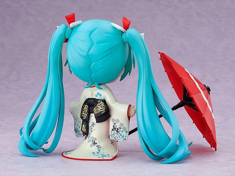 Figurine Nendoroid Character Vocal Series 01 Hatsune Miku Korin Kimono Ver. 10cm 1001 Figurines (7)