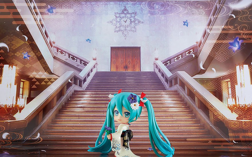 Figurine Nendoroid Character Vocal Series 01 Hatsune Miku Korin Kimono Ver. 10cm 1001 Figurines (8)