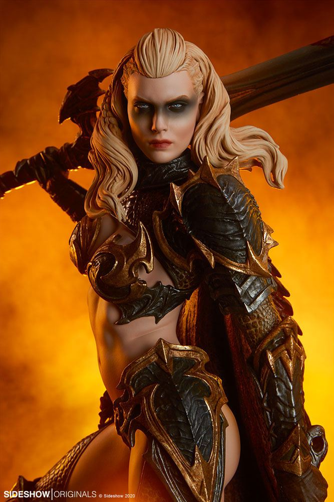 Statuette Sideshow Originals Dragon Slayer Warrior Forged in Flame 47cm 1001 Figurines (4)