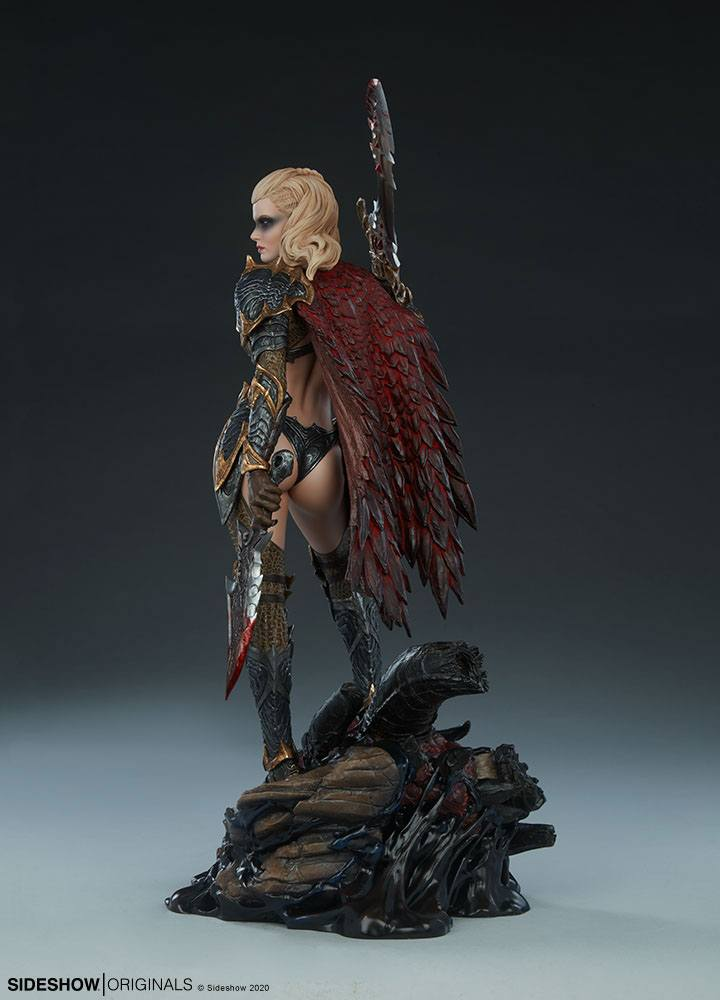 Statuette Sideshow Originals Dragon Slayer Warrior Forged in Flame 47cm 1001 Figurines (8)