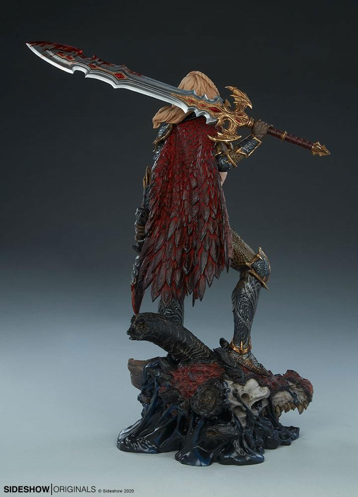 Statuette Sideshow Originals Dragon Slayer Warrior Forged in Flame 47cm 1001 Figurines (9)