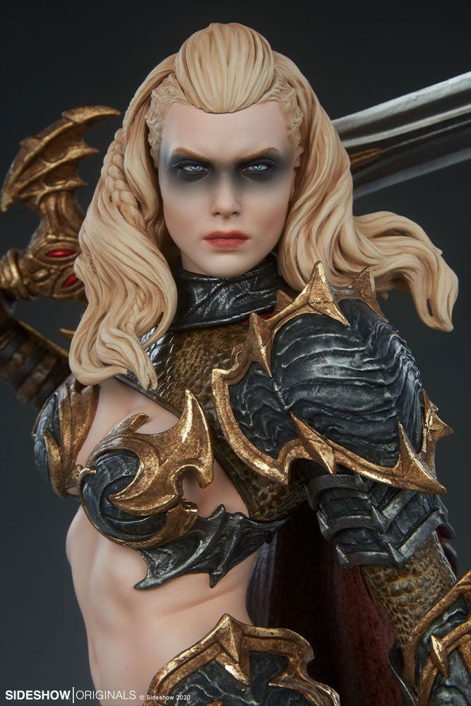Statuette Sideshow Originals Dragon Slayer Warrior Forged in Flame 47cm 1001 Figurines (12)