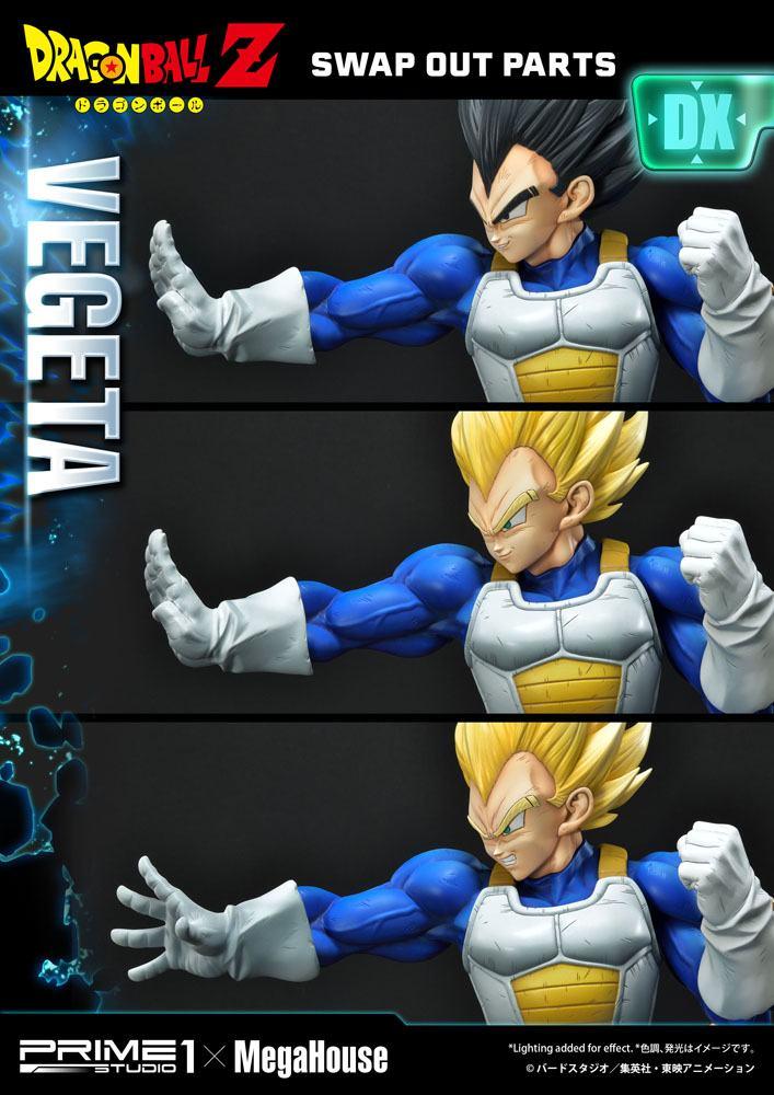 Statuette Dragon Ball Z Super Saiyan Vegeta Deluxe Version 64cm 1001 Figurines (6)
