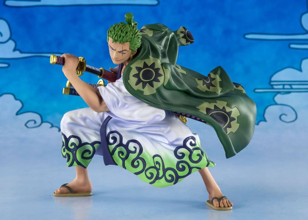 Statuette One Piece Figuarts ZERO Roronoa Zoro Zorojuro 11cm