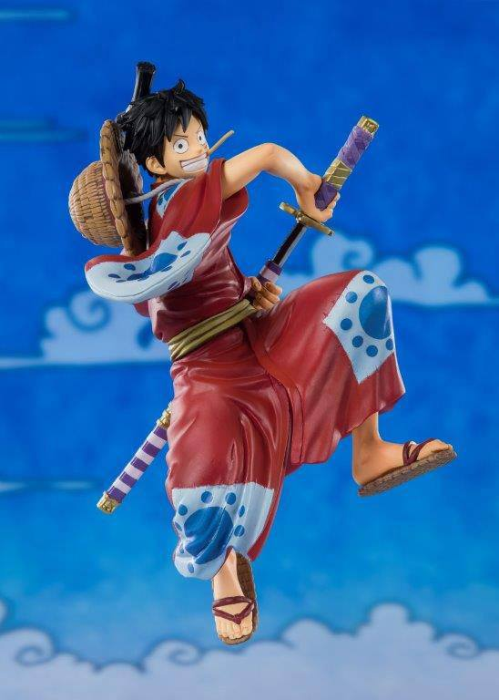 Statuette One Piece Figuarts ZERO D. Luffy Luffytaro 14cm