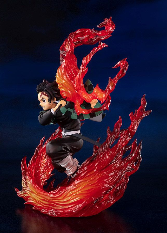 Statuette Demon Slayer Kimetsu no Yaiba Figuarts ZERO Kamado Tanjiro Hinokami Kagura 21cm 1001 Figurines (3)