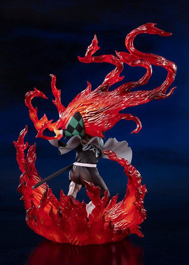 Statuette Demon Slayer Kimetsu no Yaiba Figuarts ZERO Kamado Tanjiro Hinokami Kagura 21cm 1001 Figurines (4)