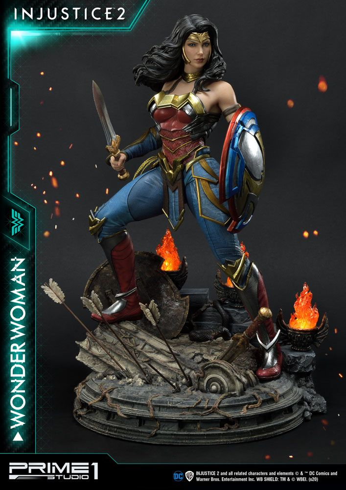 Statue Injustice 2 Wonder Woman 52cm 1001 Figurines (1)