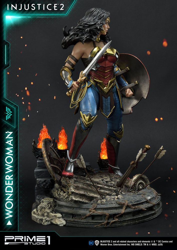 Statue Injustice 2 Wonder Woman 52cm 1001 Figurines (2)