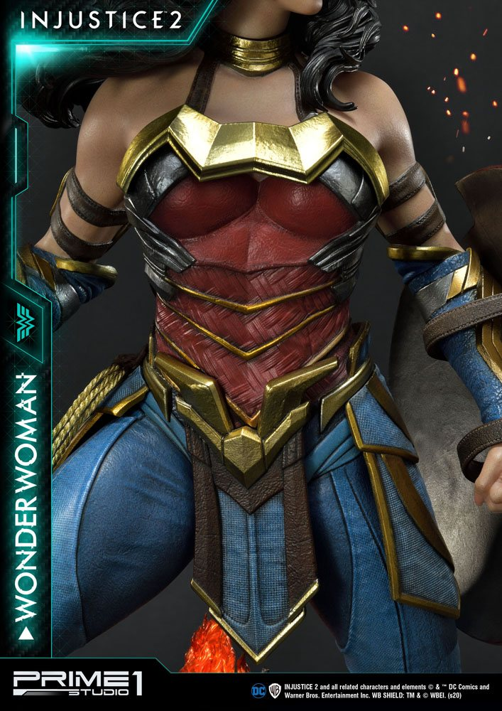 Statue Injustice 2 Wonder Woman 52cm 1001 Figurines (9)