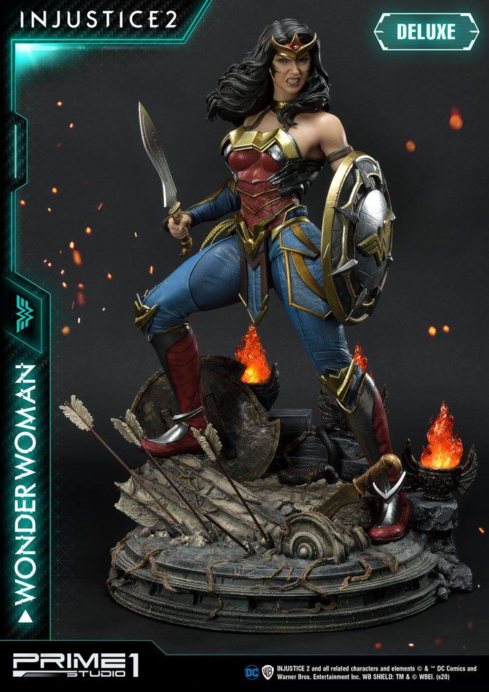 Statue Injustice 2 Wonder Woman Deluxe Version 52cm
