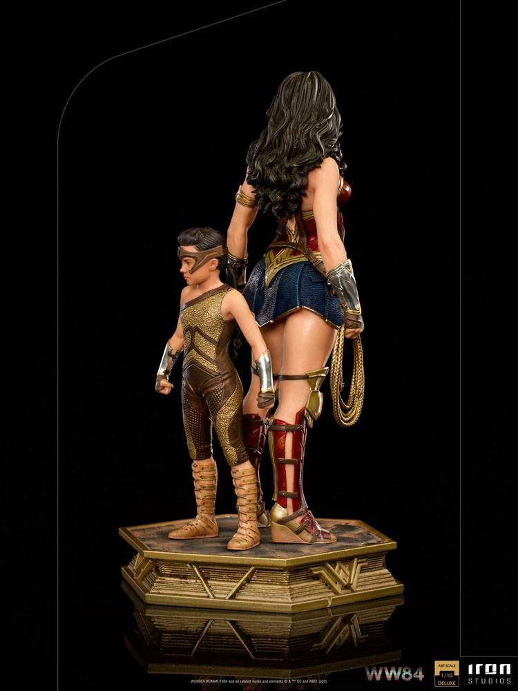 Statuette Wonder Woman 1984 Deluxe Art Scale Wonder Woman & Young Diana 20cm 1001 Figurines (4)