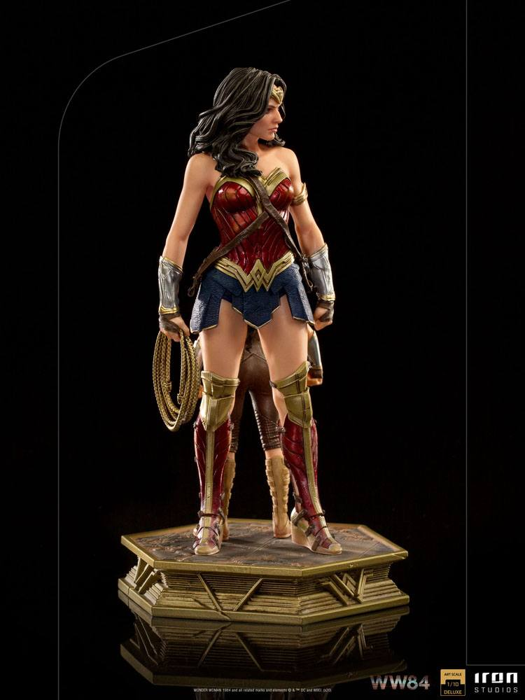 Statuette Wonder Woman 1984 Deluxe Art Scale Wonder Woman & Young Diana 20cm 1001 Figurines (5)