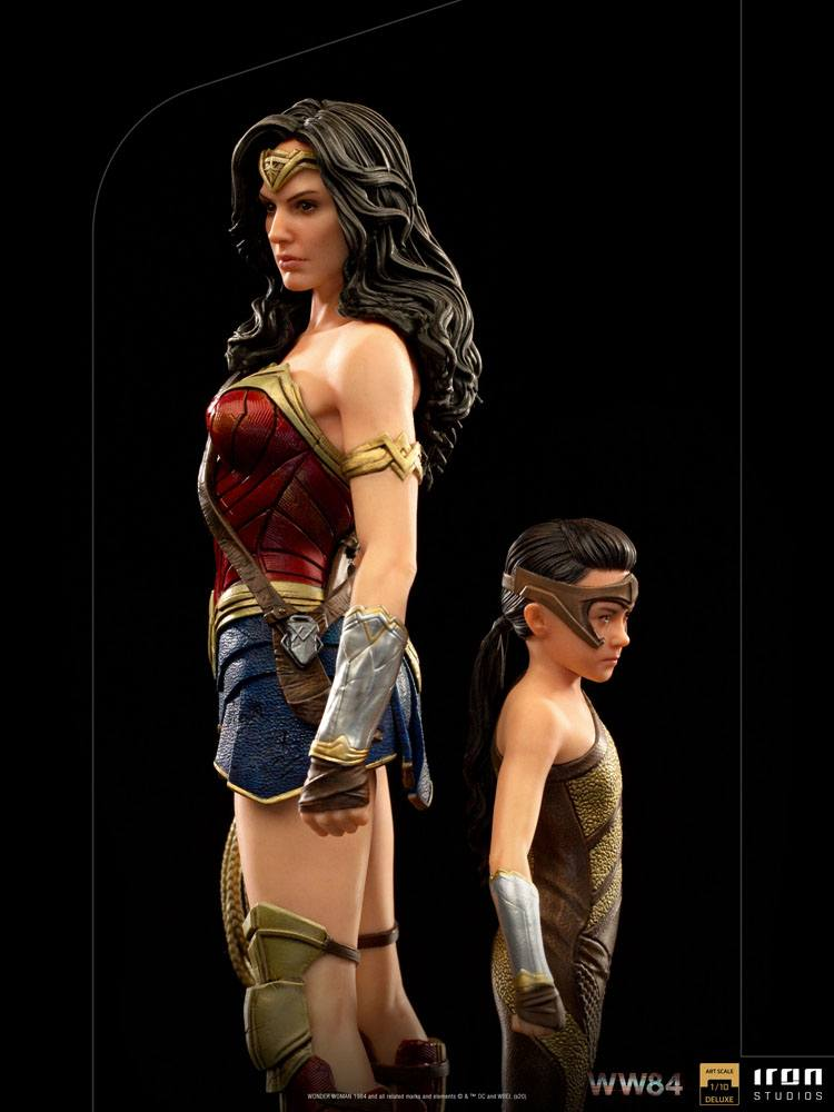 Statuette Wonder Woman 1984 Deluxe Art Scale Wonder Woman & Young Diana 20cm 1001 Figurines (7)