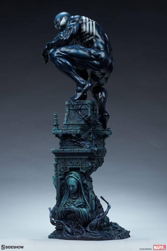 Statue Marvel Premium Format Symbiote Spider-Man 61cm 1001 Figurines (4)