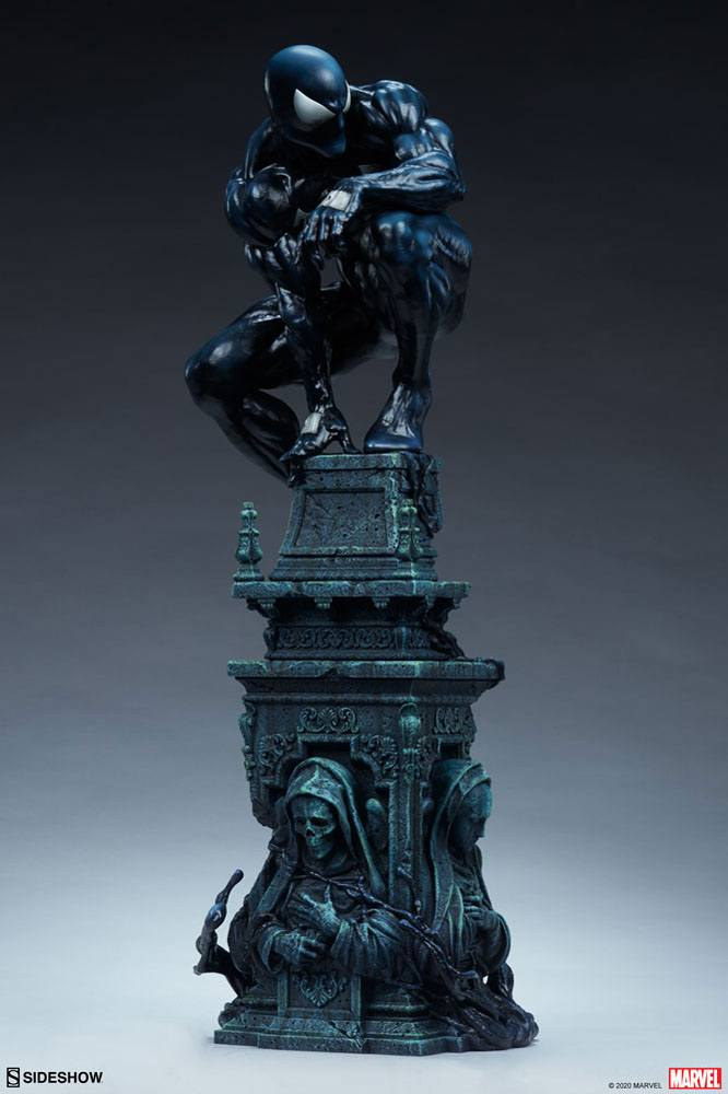 Statue Marvel Premium Format Symbiote Spider-Man 61cm 1001 Figurines (9)