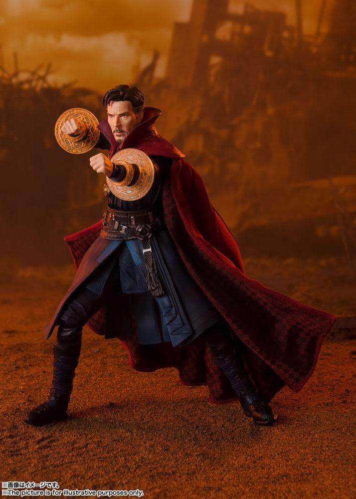 Figurine Avengers Infinity War S.H. Figuarts Doctor Strange Battle on Titan Edition 15cm 1001 Figurines (3)