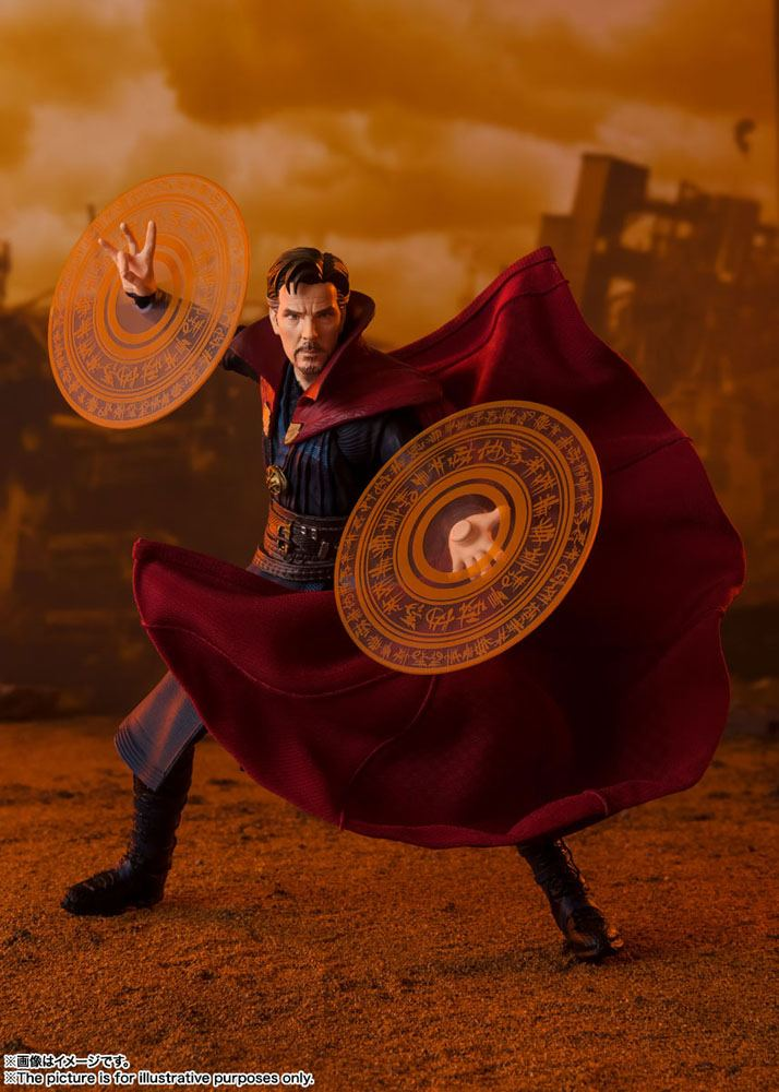 Figurine Avengers Infinity War S.H. Figuarts Doctor Strange Battle on Titan Edition 15cm 1001 Figurines (5)