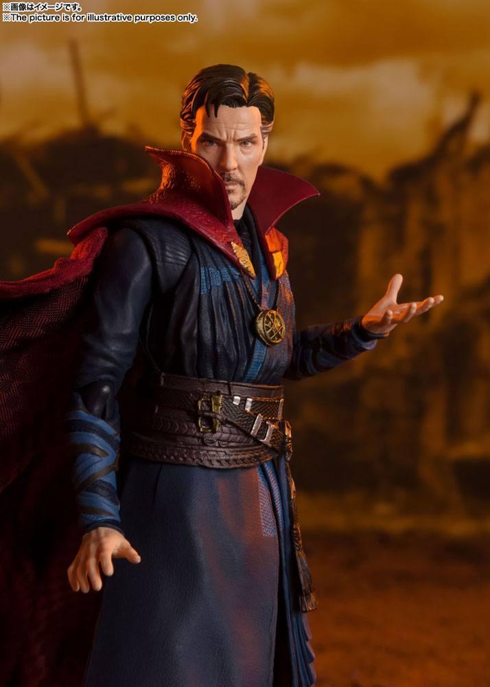 Figurine Avengers Infinity War S.H. Figuarts Doctor Strange Battle on Titan Edition 15cm 1001 Figurines (4)