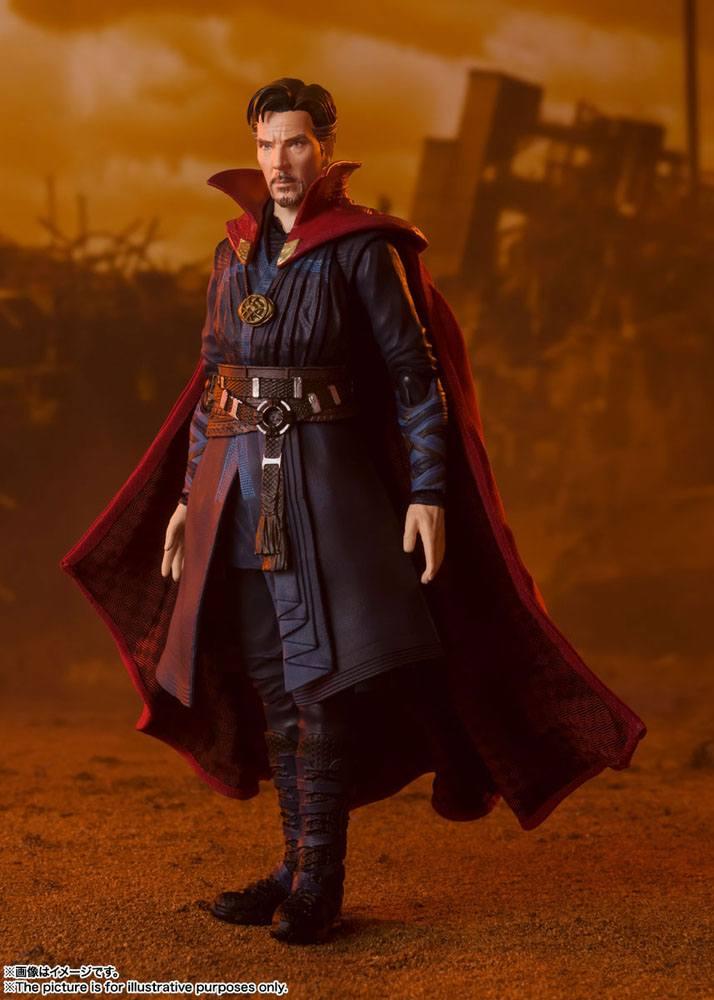Figurine Avengers Infinity War S.H. Figuarts Doctor Strange Battle on Titan Edition 15cm 1001 Figurines (8)
